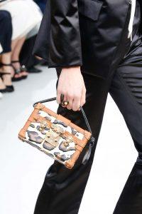 Louis Vuitton Tan Leopard Print Petite Malle Bag - Fall 2015 Runway