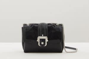 Paula Cademartori Black Embossed Print Carine Bag - Fall 2015