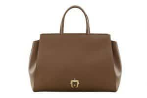 Paula Cademartori Brown Tote Bag - Fall 2015