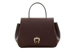 Paula Cademartori Burgundy Top Handle Bag - Fall 2015