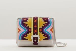 Paula Cademartori Multicolor with Star Prints Carine Bag - Fall 2015