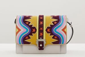 Paula Cademartori Multicolor with Star Prints Caroline Bag - Fall 2015