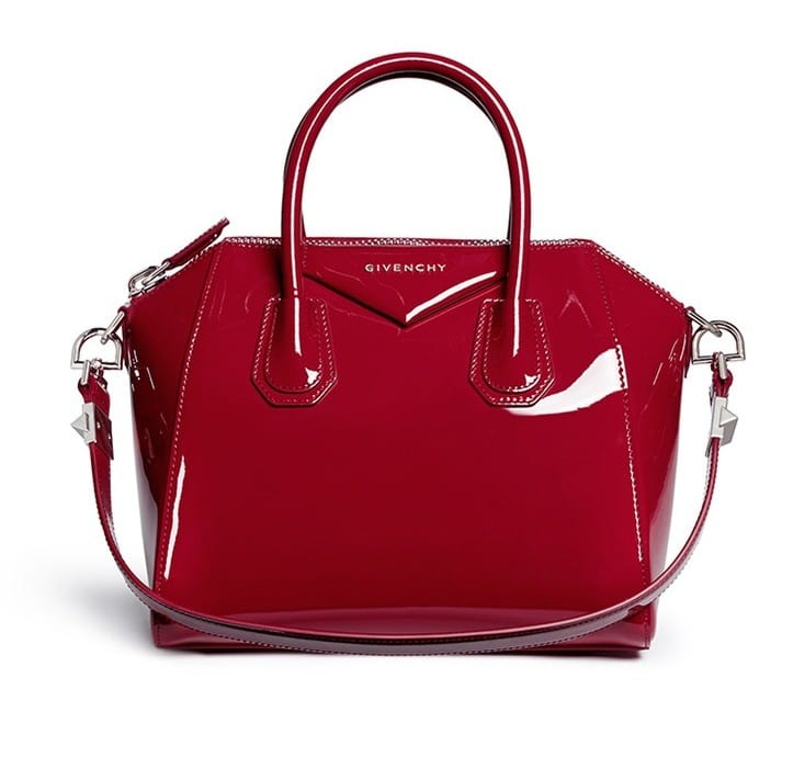 Givenchy Patent Red Antigona Bag