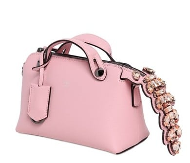 Fendi Pink Embellished Bag