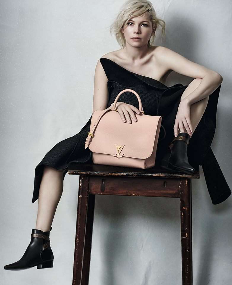 Michelle Williams with Volta Bag