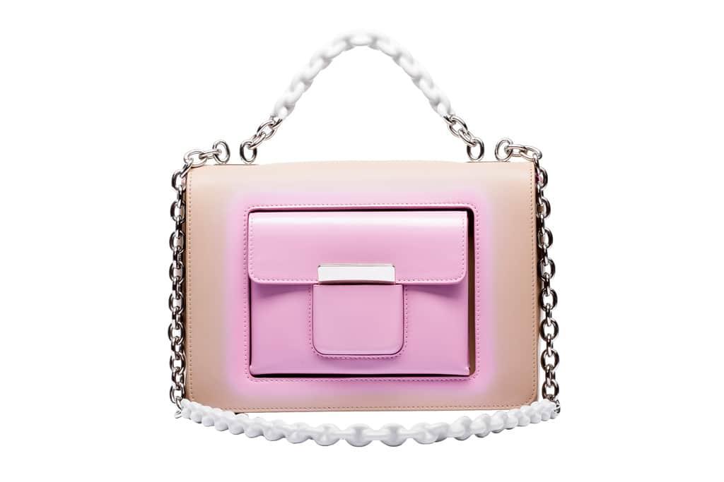 Balenciaga Beige:Pink Flap Bag