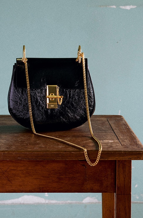 chloe marcie replica handbags - Chloe Pre-fall 2015 Bag Collection featuring Goldie Double Carry ...