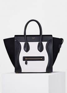 Celine Bi-color Bullhide Micro Luggage Bag