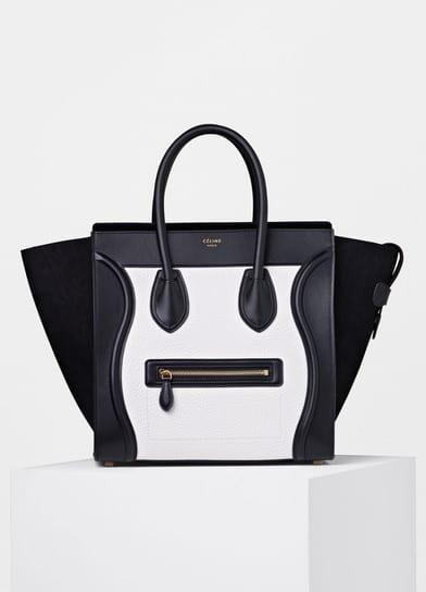 Celine Bi Color Bullhide Micro Luggage Bag Multicolor