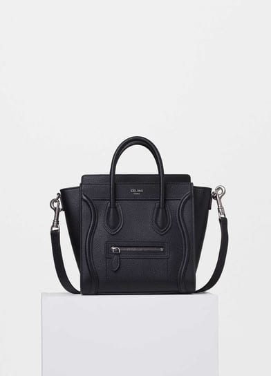 best celine bag replica - Celine Nano Luggage Tote Bag Reference Guide | Spotted Fashion