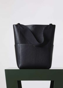 Celine Black Sangle Seau Bag