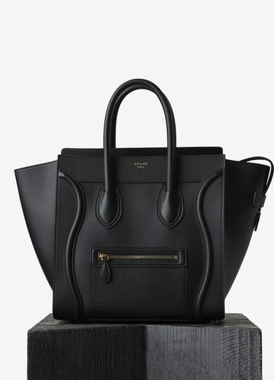99d1834796bb3 Celine Mini Luggage Tote Bag Reference Guide