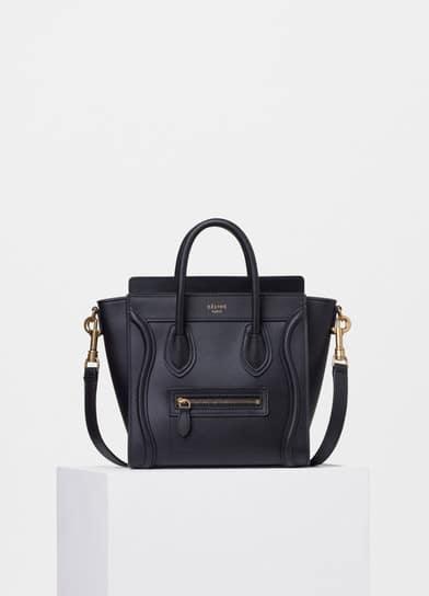 Celine Nano Luggage Tote Bag Reference Guide  3f187dd2a7e74