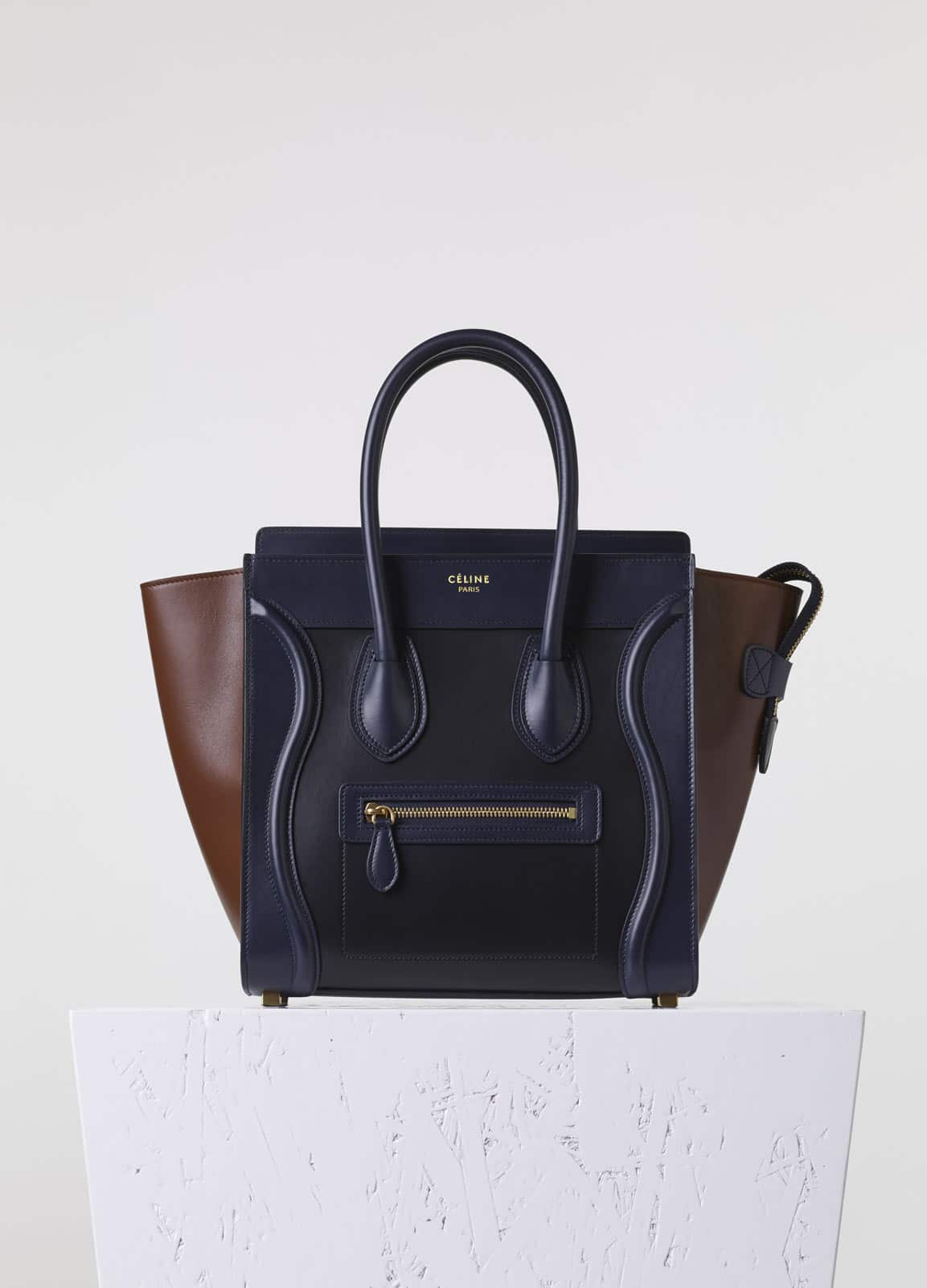 celine online shop usa - Celine Pre-Fall 2015 Bag Collection featuring new Sangle Hobo ...