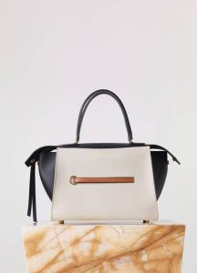 Celine Chalk Smooth Calfskin Small Ring Bag