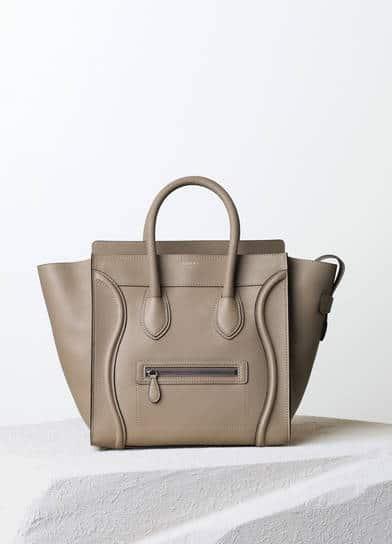 2f2fd9962e Celine Mini Luggage Tote Bag Reference Guide