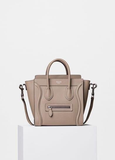 2a9e078ce558 Celine Nano Luggage Tote Bag Reference Guide