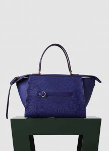 Celine Indigo Bullhide Small Ring Bag