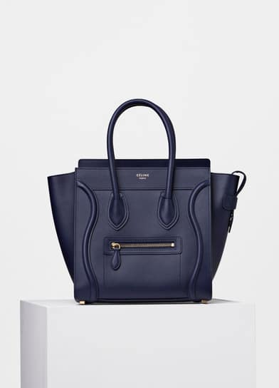Celine Micro Luggage Tote Reference Bag Spotted Fashion