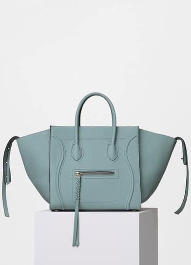 7e6070db88 Celine Jade Baby Grained Calfskin Medium Luggage Phantom Bag