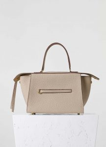 Celine Milky Beige Bullhide Small Ring Bag