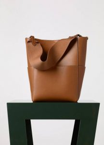 Celine Sangle Seau Bag in Tan - Fall 2015