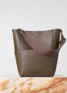 Celine Sangle Seau Bag in Taupe - Fall 2015