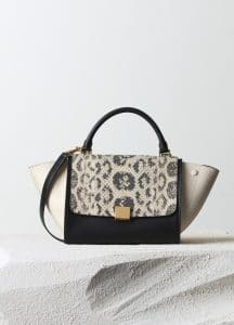Celine Seashell Anaconda/Python Trapeze Small Bag