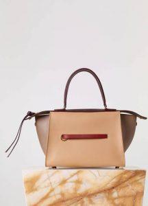 Celine Sepia Smooth Calfskin Small Ring Bag