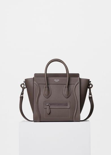 celine luggage bag sizes