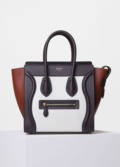 where to buy celine bags - Celine Micro Luggage Tote Reference Bag | Spotted Fashion
