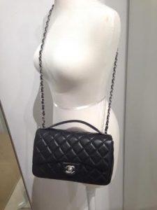 Chanel Black Easy Carry Medium Bag