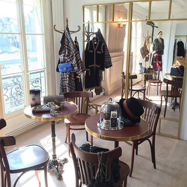 Chanel Brasserie Bags on Display - Fall Winter 2015