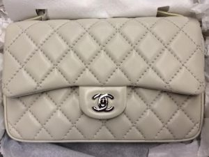 Chanel Grey Easy Carry Large Bag