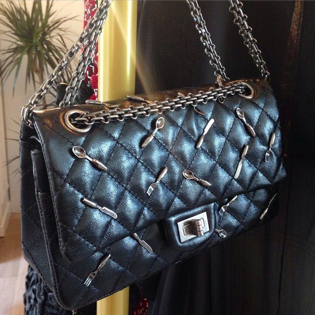 Chanel Reissue 225 with Spoon Charm Flap Bag - Fall Winter 2015