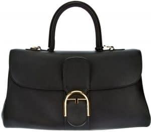 Delvaux Black Brillant East West Bag