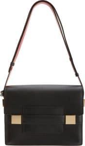 Delvaux Black Madame PM Bag