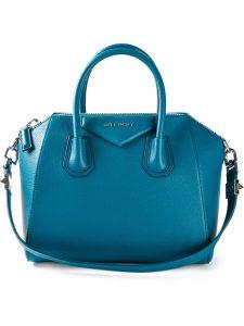 Givenchy Petrol Blue Antigona Medium Bag