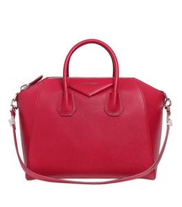 Givenchy Red Antigona Medium Bag