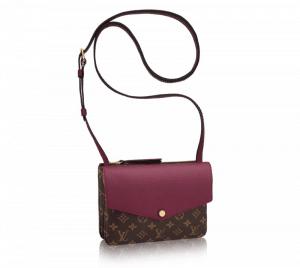 Louis Vuitton Aurore Monogram Canvas Twinset Bag