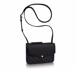 Louis Vuitton Black Monogram Empreinte Twinset Bag