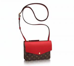 Louis Vuitton Cherry Monogram Canvas Twinset Bag
