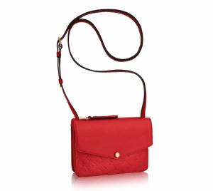 Louis Vuitton Cherry Monogram Empreinte Twinset Bag