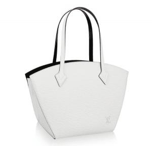 Louis Vuitton White St Jacques Bag