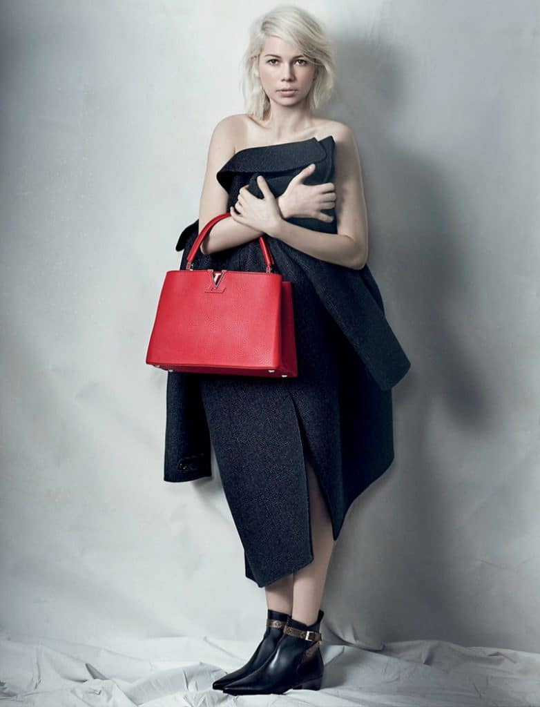 Michelle Williams Spring 2015 Capucines Ad Campaign