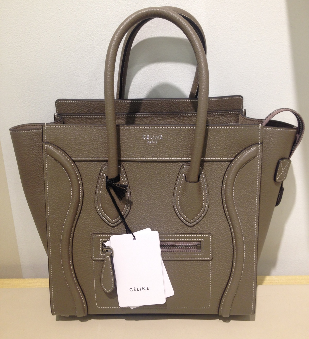 Celine Micro Luggage Tote Reference Bag | Spotted Fashion