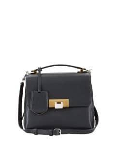 Balenciaga Black Le Dix Mini Satchel Bag
