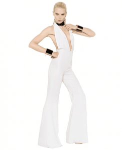 Balmain Techno and Viscose Blend Cady Jumpsuit