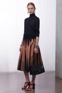 Bottega Veneta Black Flap Bag - Resort 2016