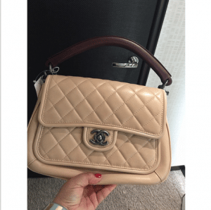 Chanel Beige Prestige Flap Large Bag